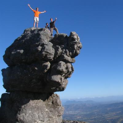 Voluntarios explorando Sudáfrica durante su tiempo libre en los cursos de inglés.